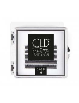 Rzęsy jedwabne CLD Silk Lashes Mini Mix Curl B