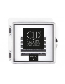 Rzęsy jedwabne CLD Silk Lashes Mini Mix Curl C
