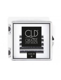 Rzęsy jedwabne CLD Silk Lashes Mini Mix Curl B