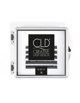Rzęsy jedwabne CLD Silk Lashes Mini Mix Curl B - 0,05mm