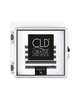 Rzęsy jedwabne CLD Silk Lashes Mini Mix Curl C - 0,05mm