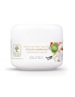 Peeling cukrowy Olive Tree Spa Clinic Perfect Sugar Scrub Italian Morning 30g