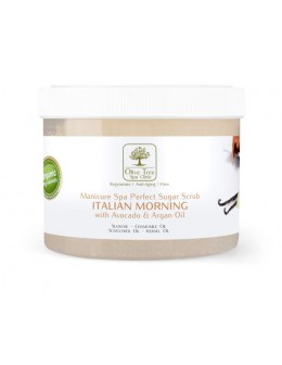 Peeling cukrowy Olive Tree Spa Clinic Perfect Sugar Scrub Italian Morning 500g