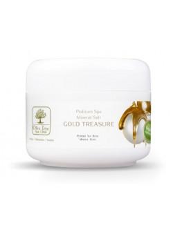 Olive Tree Spa Clinic Mineral Spa Salt Gold Treasure 30g