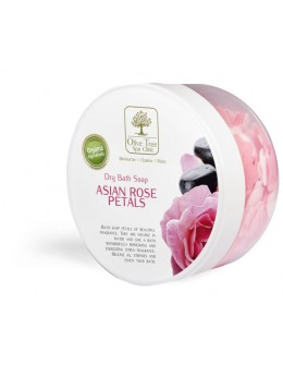 Olive Tree Spa Clinic Dry Bath Soap Asian Rose Petals 80g