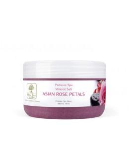 Sól Olive Tree Spa Clinic Mineral Salt Asian Rose Petals 200g