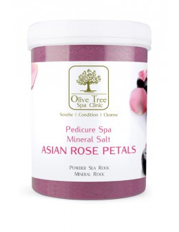Olive Tree Spa Clinic Mineral Salt Asian Rose Petals 1250g
