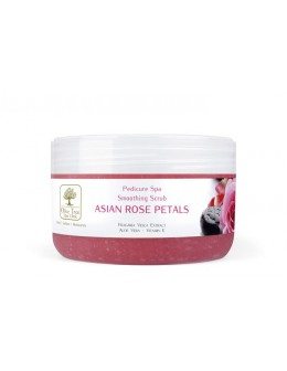 Olive Tree Spa Clinic Smoothing Scrub Asian Rose Petals 180g