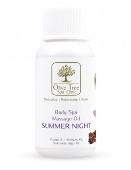 Olejek do masażu Olive Tree Spa Clinic Massage Oil Summer Night 30ml