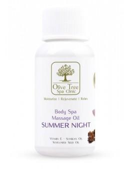 Olive Tree Spa Clinic Pedicure Spa Massage Oil Summer Night 30ml