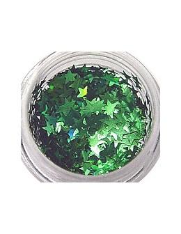 Konfetti - gwiazdki zielone