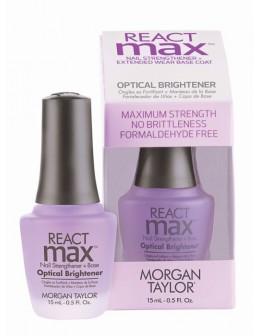 Baza i odżywka rozjaśniająca Morgan Taylor ReactMax Optical Brightener 15ml