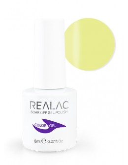 4Pro Nail Tech REALAC Soak Off Gel Polish 8ml - 046 - Sunny Funny