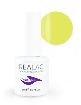 4Pro Nail Tech REALAC Soak Off Gel Polish 8ml - 047 - Take Me Yellow
