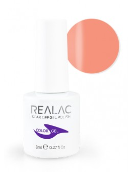 4Pro Nail Tech REALAC Soak Off Gel Polish 8ml - 050 - Tiger Lily