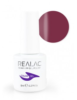 4Pro Nail Tech REALAC Soak Off Gel Polish 8ml - 057 - Claret