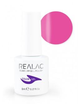 4Pro Nail Tech REALAC Soak Off Gel Polish 8ml - 064 - Lucky Kiss
