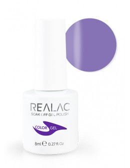4Pro Nail Tech REALAC Soak Off Gel Polish 8ml - 067 - Violet