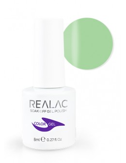 4Pro Nail Tech REALAC Soak Off Gel Polish 8ml - 068 - Green