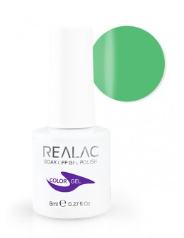 4Pro Nail Tech REALAC Soak Off Gel Polish 8ml - 071 - Take Me Green
