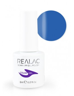 4Pro Nail Tech REALAC Soak Off Gel Polish 8ml - 077 - Take Me Blue