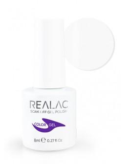 Żellakier 4Pro Nail Tech REALAC Soak Off Gel Polish 8ml - 01 - White
