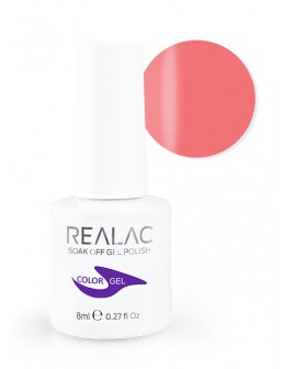 4Pro Nail Tech REALAC Soak Off Gel Polish 8ml - 08 - Beauty Pink