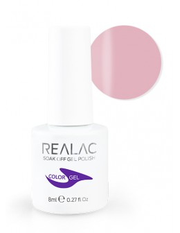 4Pro Nail Tech REALAC Soak Off Gel Polish 8ml - 28 - Shy Girl