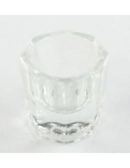 Szklane naczynko przezroczyste
