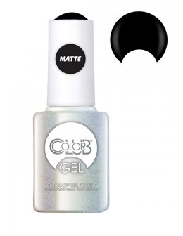 Żel Color Club Soak-Off Gel Polish 15ml - Chalk Board Black