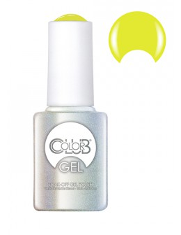 Color Club Soak-Off Gel Polish 15ml - Chalk Board Black