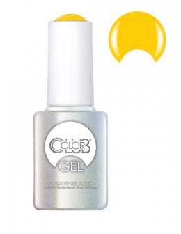 Żel Color Club Soak-Off Gel Polish 15ml - Yellin' Yellow