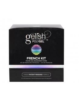 Zestaw HAND&NAIL HARMONY GELISH Polygel French
