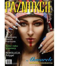 """Profesjonalne pismo dla minicurzystów i pedicurzystów """"Paznokcie"""" nr 81(2/2017)"""