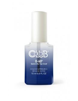Color Club 0-60 Quick Dry Top Coat 15ml