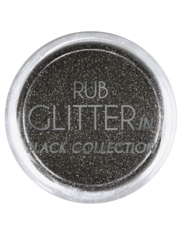 Brokat Rub Glitter In - Black 5
