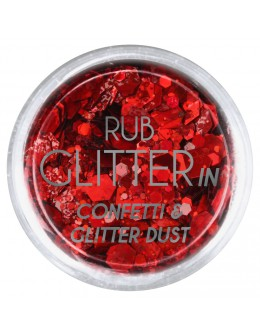 Brokat Rub Glitter In - Confetti & Glitter Dust 3