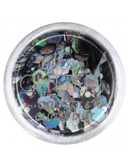 Brokat Rub Glitter In - Confetti & Glitter Dust 7