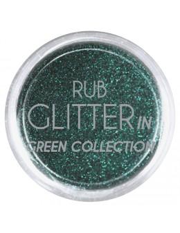 Brokat Rub Glitter In - Green 2