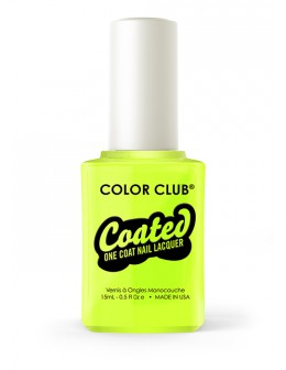 Lakier Color Club kolekcja Coated One Coat 15ml - One-step Yellin' Yellow