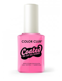 Lakier Color Club kolekcja Coated One Coat 15ml - One-step Modern Pink