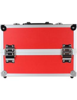 Kuferek na kosmetyki B204 - czerwony