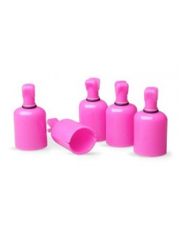 EF Gel-Off Clips 5pcs. - pink