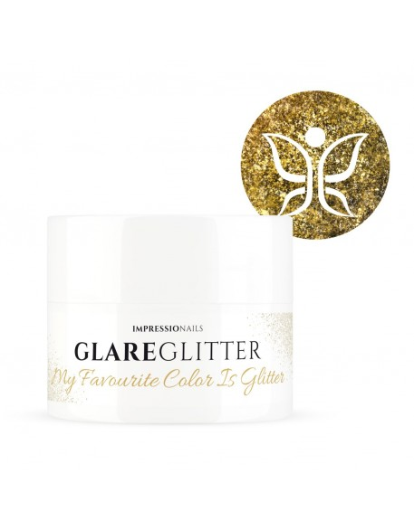 Żel brokatowy ImpressioNails Glare Glitter UV/LED Gel 5g - My Favourite Color Is Glitter