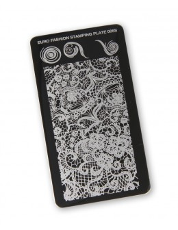Euro Fashion Nail Art Stamping Plate - 005S