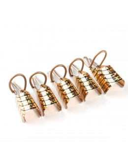 Reusable Nail Forms 5ct - gold