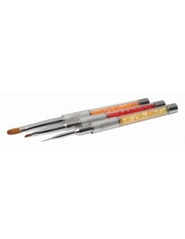 Zestaw pędzelków Hand&Nail Harmony Gel Nail Art Brush Kit