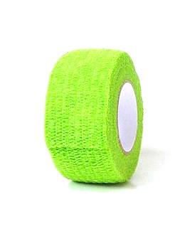 Bandaż ochronny - neonowy zielony