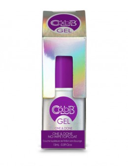 Color Club One & Done No-Wipe Top Coat 15ml