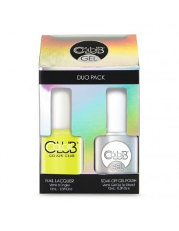 Zestaw Color Club Duo Gel Polish - N10 Yellin' Yellow